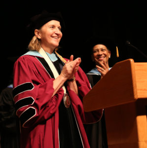 DCC's Fifth President Inaugurated Dr. Pamela Edington Focuses on Our Community, Our College, Our Future