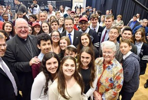 Governor Joins Cardinal Timothy Dolan, Parents, Students and Local Elected Officials to Call on Legislature to Stand Up For Choice in Education