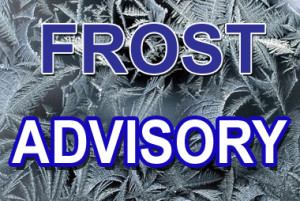 Frost Advisory issued September 21 at 3:03PM EDT until September 22 at 8:00AM EDT