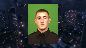 Flags on all state government buildings will be flown at half-staff in memory of NYPD Officer Brian Moore