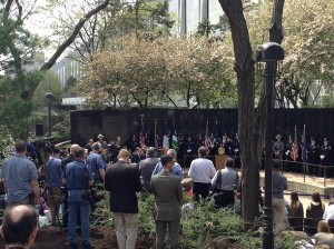 Annual Police Officers' Remembrance Ceremony Honors State's Heroes, Whose Names Were Added to the Police Officers' Memorial