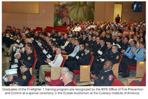 More Than 50 Dutchess County Volunteer Firefighters Recognized by NYS Office of Fire Prevention and Control