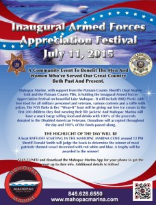 Armed Forces Appreciation Festival, July 11th