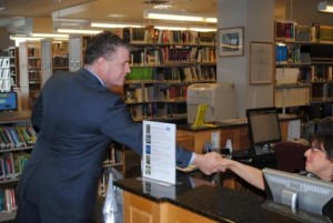 Murphy Secures More Than $25k for Local Library Construction