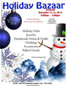 Patterson Holiday bazaar
