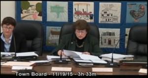 Amenia Town Board Meeting – 11.19.15