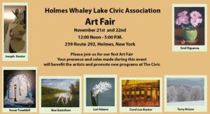 Holmes Whaley Lake Civic Association Art Fair