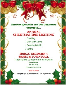 Annual Patterson Tree Lighting