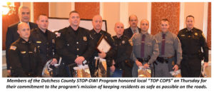 """21st Annual STOP-DWI Law Enforcement Awards  Honor Local """"TOP COPS"""""""
