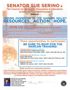 ENDING OVERDOSE IN THE HUDSON VALLEY