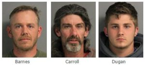 State Police at Liberty Report the Arrest Three Pennsylvania Men For Weapon Possession