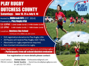 Play Rugby in Millbrook
