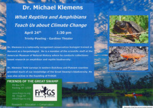 Reptiles, Amphibians & Climate Change in Pawling