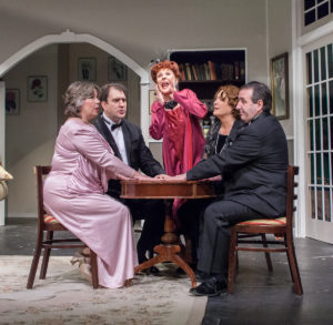 A Happy Medium   The Sherman Playhouse Opens Noël Coward's delightful,  supernatural comedy 'Blithe Spirit' on April 29th