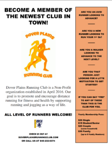 Dover Plains Runners Club