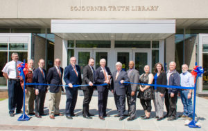 Ribbon cutting celebrates Sojourner Truth Library reopening