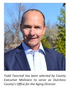 MOLINARO SELECTS OFFICE FOR THE AGING DIRECTOR