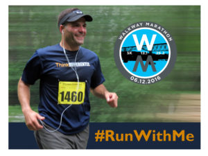 "#RunWithMe at the Walkway Marathon – Register to run or be a ""Think Differently Dash"" buddy"