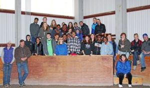 Kirby Hill Farm and Spins Bowl New York Open Doors  to Dutchess County Chamber of Commerce's Youth Leadership Program