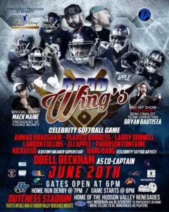 Celebrity Softball Game to be held at Dutchess Stadium Monday, June 20th