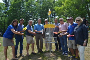 Disc Golf Course Opens at Wilcox Memorial Park