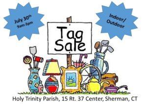 Tag Sale – Holy Trinity Parish, Sherman