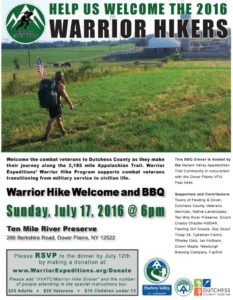Fourth Annual Dutchess County Event Welcomes Warrior Hikers and Demonstrates Appreciation for Veterans
