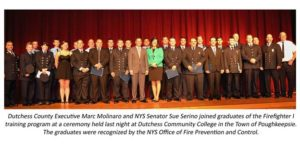 Close to 30 Dutchess County Volunteer Firefighters Recognized by NYS Office of Fire and Prevention Control