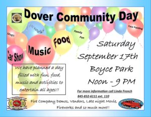 Dover Day is Saturday, September 17th