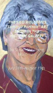 """THE SILO WELCOMES """"PORTRAIT RETROSPECTIVE"""" ART SHOW"""