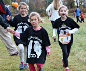 Run/Walk with Team Julia's Wings