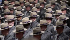 204th Session of the Basic School graduates from the New York State Police Academy