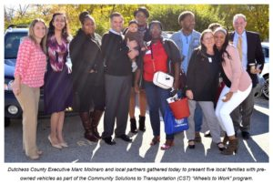 Local Families Receive Vehicles from  'Wheels to Work' Program