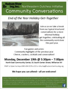 Northern Dutchess Initiative Community Conversations