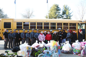 Troop K's Annual Toys for Tots Campaign