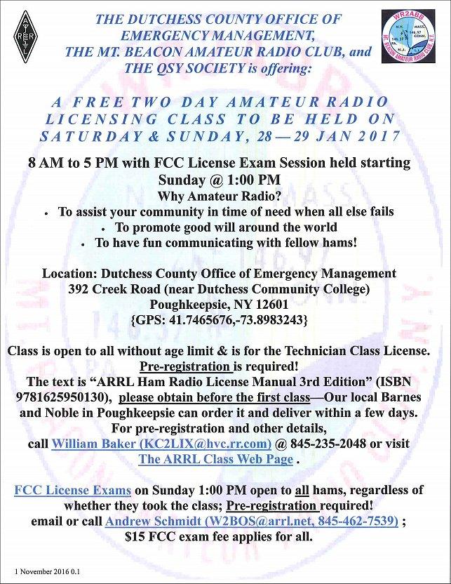 Dutchess County Emergency Response to Facilitate Amateur
