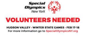 Special Olympics – Volunteers Needed