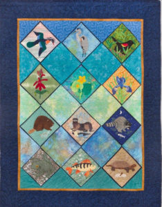 The Friends of the Great Swamp (FROGS) created a commemorative quilt over the course of an entire year and it'll be on display at the Dover Library throughout March, accompanied by a presentation on March 22nd at 6:30