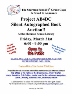 Project AB4DC Silent Book Auction in Sherman