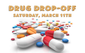 Drug Drop-Off Events This Saturday