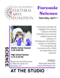 Explore Forensic Science at the Studio