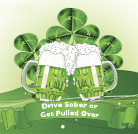 Crackdown on Impaired Driving Through St. Patrick's Day
