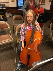 Pawling resident Klara Dziurdzinski will be performing with the Danbury Preparatory String Orchestra in their Food for Thought Concert on April 30th