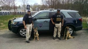 State Police assisted the Massachusetts State Police with patrolling the 2017 Boston Marathon