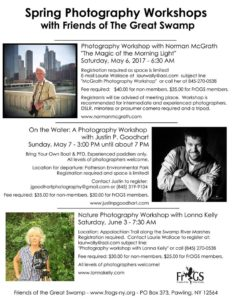 Spring Photography Workshops