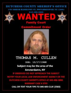Wanted By The Dutchess County Sheriff's Department