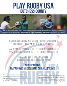 Play Rugby USA – Dutchess County