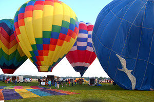 The Hudson Valley Hot-Air Balloon Festival returns July 7-9 in Poughquag