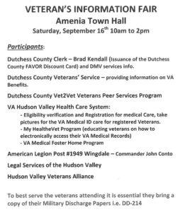 Veteran's Information Fair