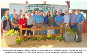 Molinaro Hosts 3rd Annual Agricultural Forum  at Dutchess County Fairgrounds